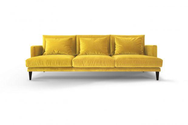 Jaką sofę wybrać do salonu? Dziś polecamypięknemodele w kolorach roku. Szare sofy pokochaliśmy już dawno, żółte dopiero wchodzą na nasze salony.