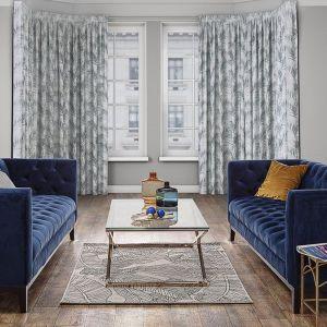 Sofa Velvet Elite indigo blue 3-osobowa. Fot. Dekoria