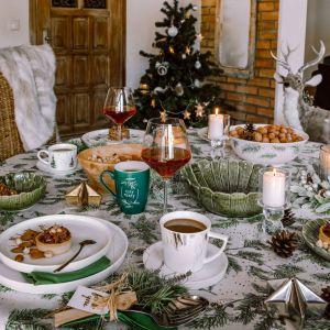 Stół na święta. Pomysł na piękną aranżację. Fot. mat. prasowe Złota 44