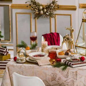 Stół na święta. Pomysł na piękną aranżację. Fot. Home&You