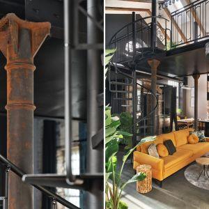 Adaptacja na loft starej kuźni w Fabryce Pomp w Lesznie. Projekt wnętrza: Jan Sikora, Sikora Wnętrza. Fot. Tom Kurek