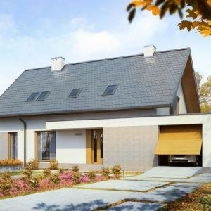 Czołowi producenci pokryć dachowych promują blachodachówki płaskie na rąbek stojący oraz dachówki płaskie – zarówno cementowe, jak i ceramiczne. Fot. Galeco