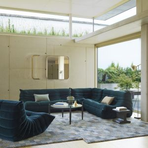 Togo to seria mebli, którą w 1973 roku dla marki Ligne Roset zaprojektował francuski designer Michel Ducaroy. Fot. Ligne Roset