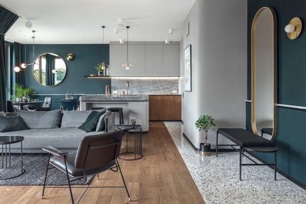 79-metrowe mieszkanie na Gdańskim Garnizonie powstało dla młodego singla, miłośnika muzyki. Projektanci z pracowni Raca Architekci stworzyli nietuzinkową i funkcjonalną enklawę w zdecydowanym, męskim stylu.
