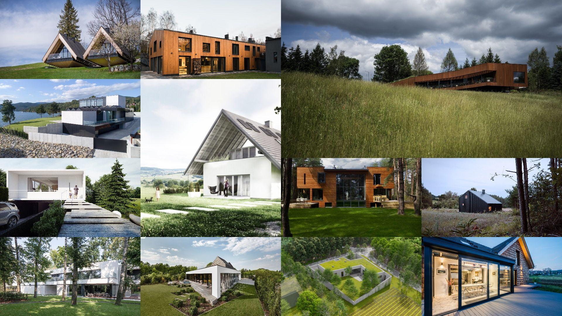 Najchętniej oglądane domy w 2020 roku w portalu Dobrzemieszkaj.pl