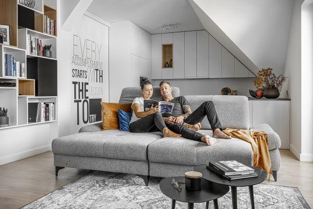 Sofa to najważniejszy meble w salonie. Zobaczcie modele dedykowane do niedużych wnętrz w mieszkaniu w bloku.