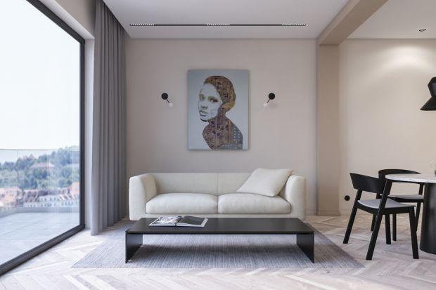 Pracownia Kosakowski studio po raz kolejny proponuje wnętrze mieszkania w stylu minimalistycznym, tym razem w wydaniu eleganckim i pełnym ciepłej, wyważonej kolorystyki. Apartament ma tylko 49 metrów, ale otwarty plan funkcjonalny sprawia, że mieszk