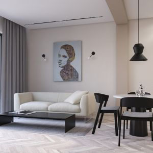 Apartament ŻOLI. Projekt i zdjęcia Łukasz Kosakowski, Kosakowski studio
