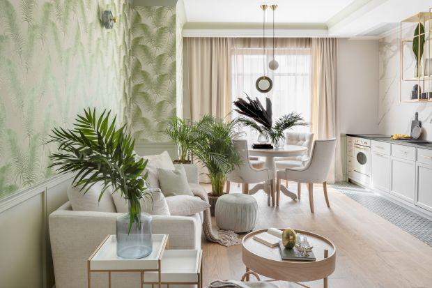 Modny salon jest naturalny, jasny, pełen żywych roślin i zieleni. Jak urządzić przyjazne wnętrze w stylu eko? Nasze aranżacje w tym pomogą!