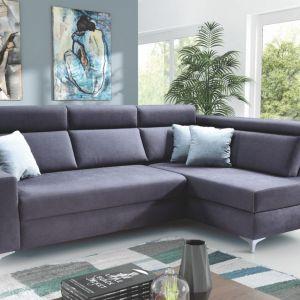 Sofa z funkcją spania z kolekcji Supra dostępna w ofercie firmy PMW. Fot. PMW