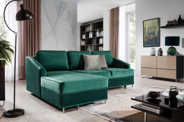 Sofa w salonie: 15 świetnych modeli z funkcją spania!
