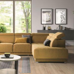 Sofa z funkcją spania z kolekcji Belize dostępna w ofercie firmy Wajnert Meble. Fot. Wajnert Meble