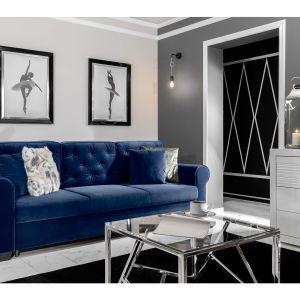 Sofa z funkcją spania z kolekcji Arles dostępna w ofercie firmy Black Red White. Fot. Black Red White