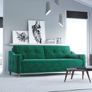 Sofa z funkcją spania z kolekcji Rimini dostępny w ofercie firmy MP Nidzica. Fot. MP Nidzica