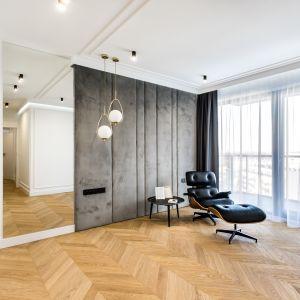 Oświetlenie w salonie. Fot. Moovin Interiors