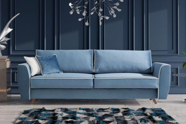 Do małego salonu warto wybrać sofę z funkcją spania. Odpowiedni model będzie piękne wyglądał i zapewni nam zarówno komfortowy odpoczynek, jak i spokojny sen.