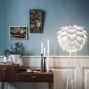 Biały abażur VITA Copenhagen Silvia, ⌀ 50 cm, Bonami.pl, 369 zł