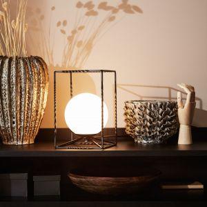 Czarna lampa stołowa Markslöjd Eve Table Black, Bonami.pl, 249 zł