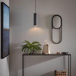 Czarna lampa wisząca La Forma Maude, wys. 10 cm, Bonami.pl, 306 zł