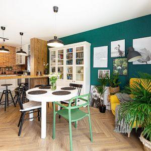 Przytulny salon w stylu boho. Projekt i zdjęcia: Dobry Układ Sandra Białkowska