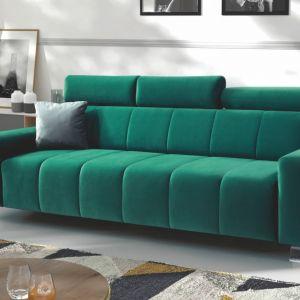 Sofa do małego salonu Rubio z dostępna w ofercie firmy PMW. Fot. PMW