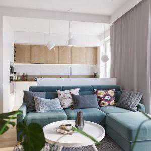 Sofa do małego salonu Smart dostępna w ofercie marki MP Nidzica. Fot. MP Nidzica
