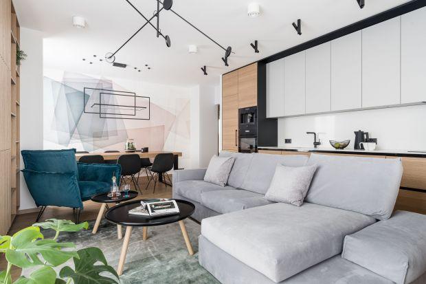 Nowoczesne wnętrze w przytulnym klimacie. Zobacz piękne mieszkanie!