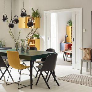 Jadalnia w bloku połączona z kuchnią. Fot. VOX