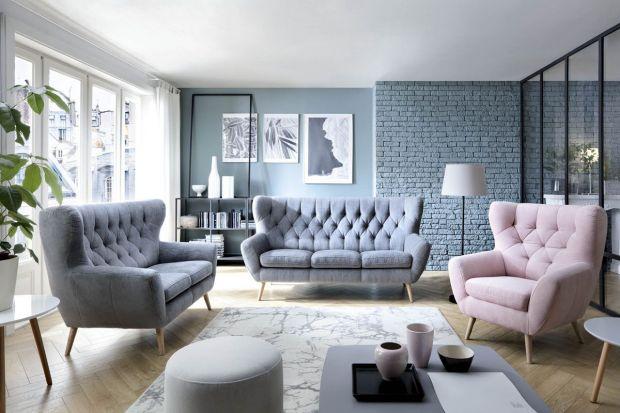 Modne meble do salonu: wybieramy piękne sofy i fotele w stylu vintage