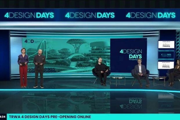 O wyzwaniach, jakie stawia przed architektami, projektantami i inwestorami nowa rzeczywistość rozmawiali prelegenci 4 Design Days Pre-Opening Online. Dwudniowe, internetowe debaty, które były wstępem do VI edycji 4 Design Days (13-16 maja 2021 r.), o