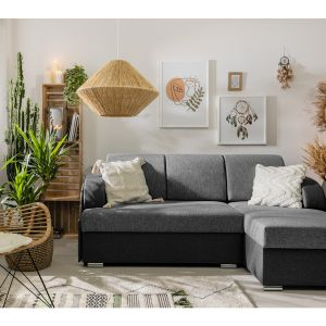 Sofa do małego salonu z kolekcji Merin dostępna w ofercie firmy Black Red White. Fot. Black Red White