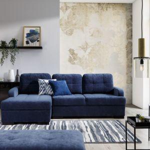 Sofa do małego salonu z kolekcji Catanzaro dostępna w ofercie firmy Stagra Meble. Fot. Stagra Meble