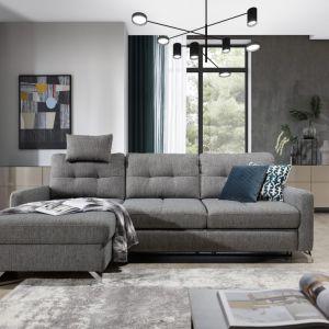 Sofa do małego salonu z kolekcji Nawe dostępna w ofercie firmy Stagra Meble. Fot. Stagra Meble