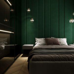Sypialnia to przede wszystkim miejsce, gdzie śpimy – stąd kolorystyka nie jest ani krzykliwa, ani pobudzająca, lecz wręcz sprzyjająca relaksowi.
