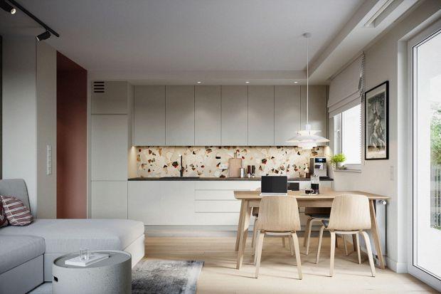 Mieszkanie w Sopocie powstało dla pary z dzieckiem. Ciekawy pomysł, pełen koloru i bardzo funkcjonalny, to projekt architektek z trójmiejskiej pracowni p2 Pikiel&Piltz, Zuzanny Pikiel i Agaty Piltz.