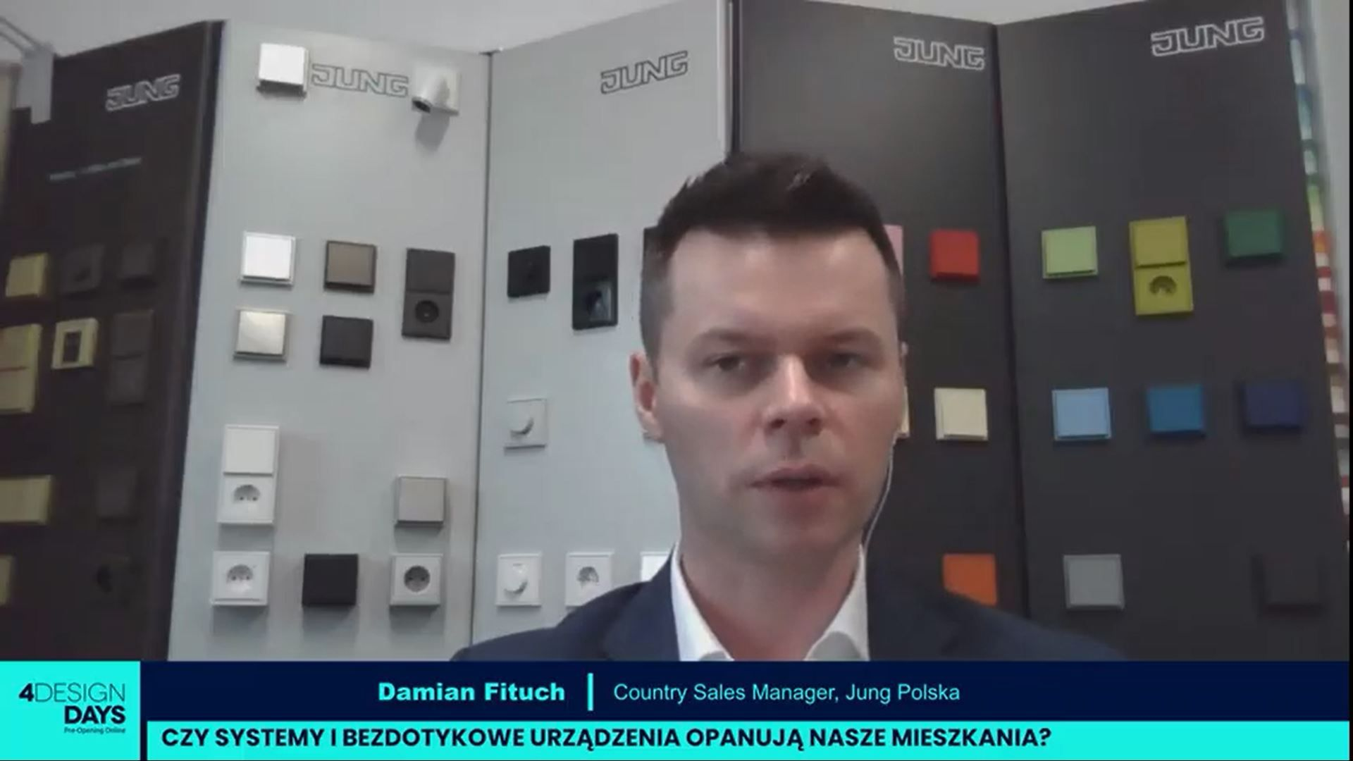 Damian Fituch, Country Sales Manager, Jung Polska