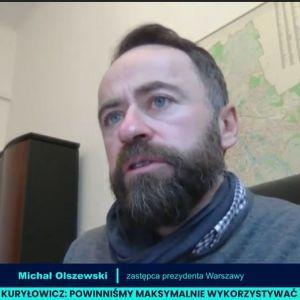 Michał Olszewski, zastępca prezydenta Warszawy
