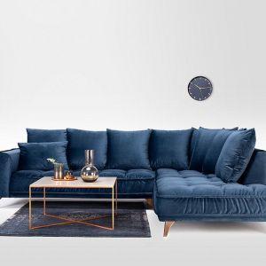 Narożnik Belavio z dodatkowymi poduszkami dekoracyjnymi. Marka: Befame. Układ do wyboru. Stabilne metalowe nogi. Cena: od 6139 zł. Fot. Befame