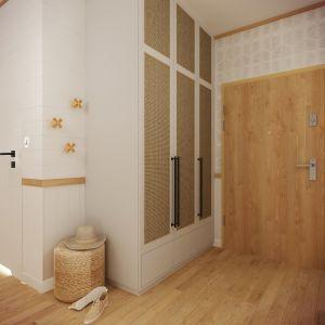 Przedpokój. Projekt wnętrza: Weronika Messyasz, Messyasz Design Lab
