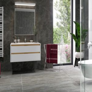 Grzejnik łazienkowy  Horos 146, biały soft. Fot. Excellent