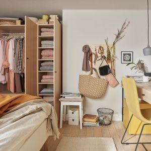 Naturalnym miejscem do pracy w domu jest często sypialnia. Fot. VOX