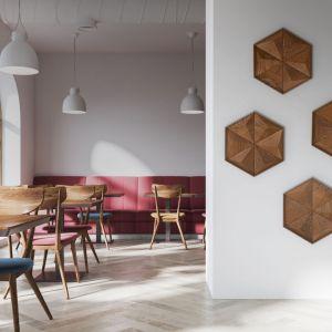 Drewniane panele 3D - pomysł polskiej marki Form At Wood. Fot. Form At Wood