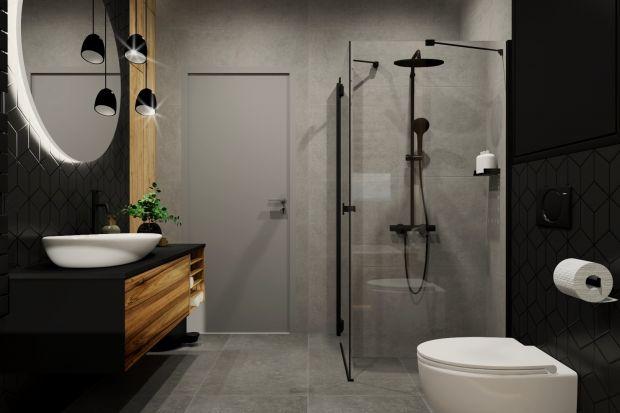 Jak urządzić modną, wygodną i piękną łazienkę? Radzimy sięgnąć po ciemne kolory.Dzięki nim łazienka będzie nie tylko niezwykle efektowna, ale także także przytulna.I oczywiście modna!