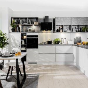 Kuchnia w stylu nowoczesnym. Propozycja kuchni na wymiar. Fot. BRW