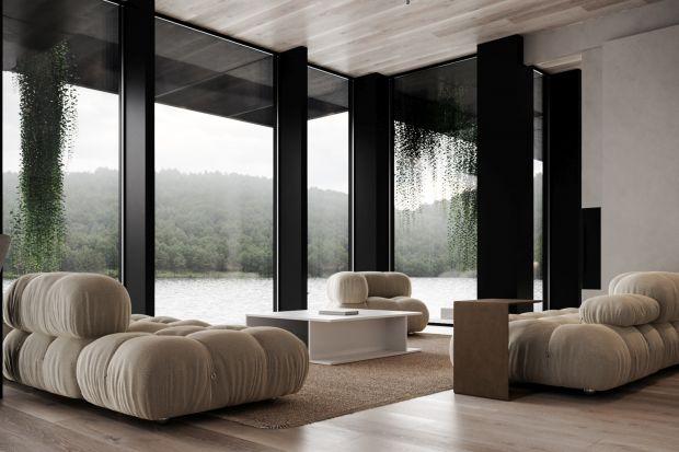 Dom płynnie przechodzący w taflę jeziora, otoczone lasem, z południową ekspozycją brzmi jak spełnienie marzeń wszystkich, którzy cenią bliskość natury. Właśnie tak prezentuje się najnowszy projekt pracowni Studio. O.: nowoczesne siedlisko,