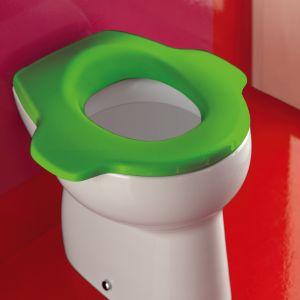 Florakids - bajkowa i urocza kolekcja do łazienki dla dzieci, przeznaczona do łazienek domowych i publicznych, np. w przedszkolach. Fot. Laufen