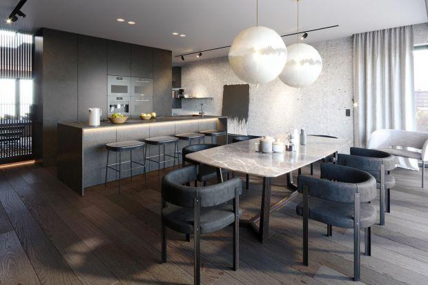 Apartament z wyjściem na taras na dachu, dzieło pracowni KANDO ARCHITECTS, został starannie dopasowany do ściśle sprecyzowanych potrzeb inwestora. Zachwyca szlachetnością powściągliwych form oraz naturalnych materiałów, urzeka niewymuszonym luk