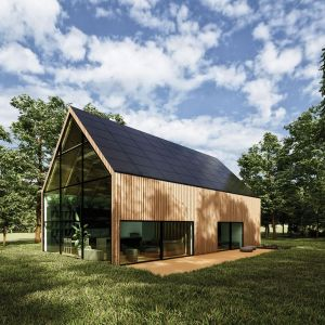 Projekt domu: Wooden Eco-House in the Forest. Fot. mat. prasowe SunRoof