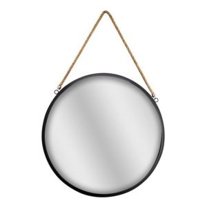 Dekoracyjne, okrągłe lustro. Cena: 39,90 zł. Fot. Salony Agata