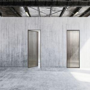 Drzwi carbon vetro fume. Fot. Galeria Wnętrz Domar / Barausse